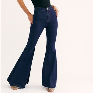 Free People NWT Flair Jeans